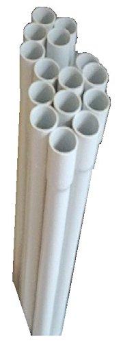 30m Stangenleerrohr Größen M25 0,63€/m Leerrohr Elektrorohr gemufft stangenrohr (M25)