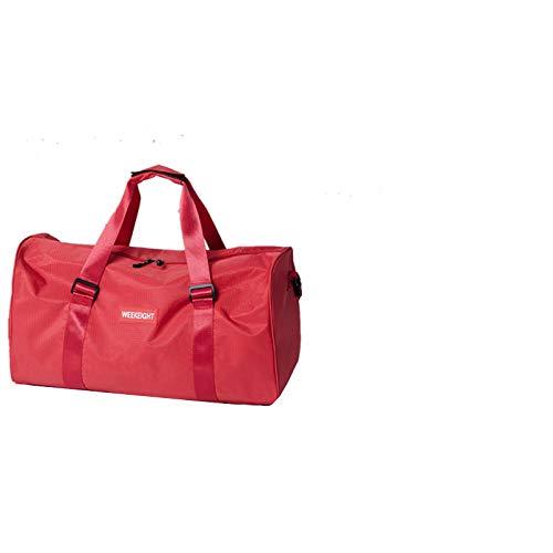 SIMEISM Unisex multi funcional bolsas de viaje hombres mujeres impermeable fitness yoga bolso bolso ropa zapatos bolsa de lona
