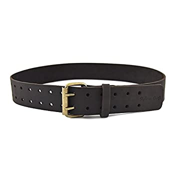 Style n Craft 74-052 2-Inch Work Belt in Heavy Top Grain Oiled Leather 32-Inch to 46-Inch
