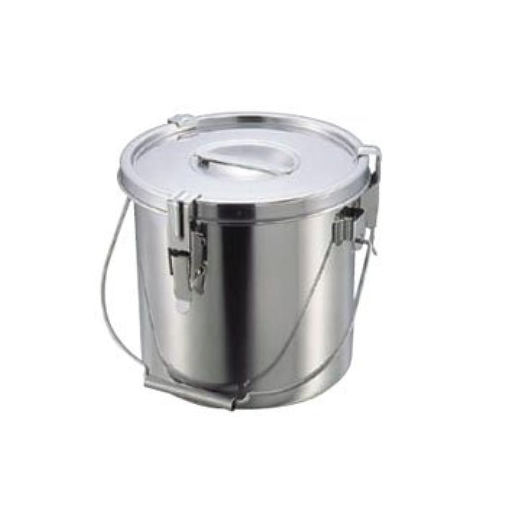 犬超える示すスギコ産業 フタ付モリブデンパッキン汁食缶 24CM
