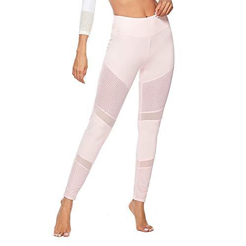 HOMEBABY Vrouwen Yoga Leggings Push Up Patchwork Hoge Taille Fitness Sport Gym Workout Broek Tommy Control Capris voor Dames Atletische Broek Tummy Control Broek Sportkleding