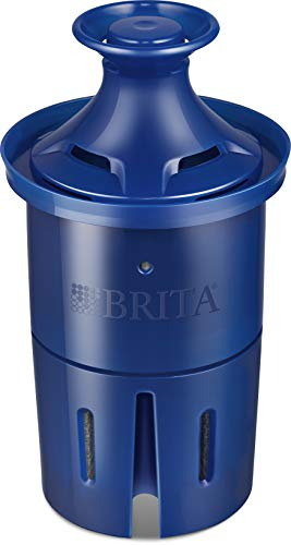 Brita Longlast Water Filter, Longlast Replacement Filters for Pitcher and Dispensers, Reduces Lead, BPA Free  1 Count