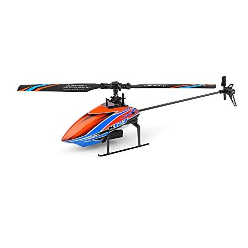 CHENBAI Hélice única de cuatro vías sin alerones, helicóptero de control remoto, modelo de vuelo de control remoto de altitud fija de presión de aire, adecuado para adultos, niños y principiantes, reg