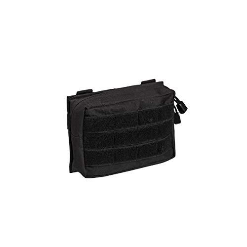 Petite sacoche ceinture en molle, noir