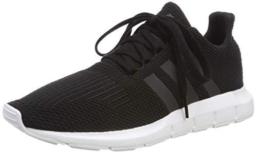 adidas Unisex-Kinder Swift Run-j Gymnastikschuhe, Schwarz (Core Black/Weiss/Black/Ftwr White Core Black/Weiss/Black/Ftwr White), 37 1/3 EU (4.5 UK)