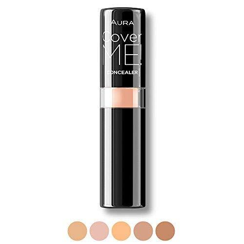 5 couleurs Correcteur Anti-cernes Stick Crème Correct ME par Aura Cosmetique couleur beige
