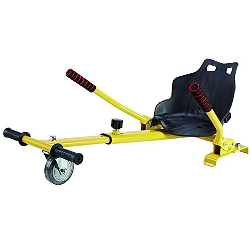 LHZMD Hoverkart, Kart Ajustable para Scooters Eléctricos De Autoequilibrio, Asientos De Hoverboard, Karts Compatibles con Todos Los Scooters-6.5/8 / 10 Pulgadas, Regalos para Niños Y Adultos,F