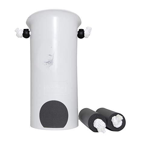 Vaunn Medical EZ-TUG Sock Aid Assist with Foam Grip Handles and Length Adjustable Cords (Renewed)