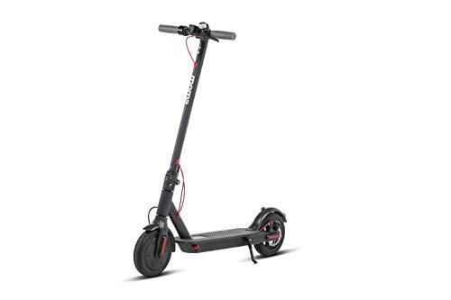 """Moma bikes, Monopattino Elettrico Pieghevole E-500, Ruote Antiforatura 8,5"""", Autonomia 30km, Velocità massima 25km/h, Nero, Unisex"""