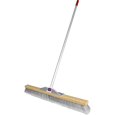 Super Sweep 36-Inch Gray Flagged Broom