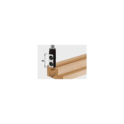 FESTOOL Wendeplatten-Nutfräser HW 14 x 30 mm Schaft 8 mm, 1 Stück,492715