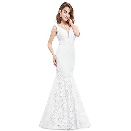 BINGQZ Damen/Elegant Kleid/Cocktailkleider Plus Size Pretty Korsett Lace Mermaid Brautkleider Einfache Elegante Brautkleider für die Braut Kleid Boda Robe de Mariee