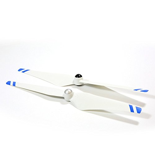DJI Phantom 2 VISION Self-tightening Propeller SET 2x /1xCW+1xCCW Blue stripes