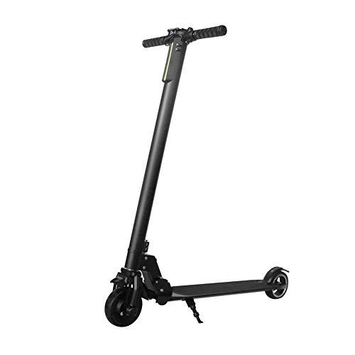 M/P Scooter Eléctrico-hasta 25Mph, 5'neumático Delantero, Motor de Hub sin escobillas de 250W, Ligero 8,5Kg, Anti-sonado de Aluminio Plegable Scooter Eléctrico para Adultos