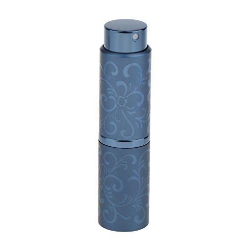 Sharplace 15ml Vaporisateur Voyage Portable Rechargeable Vide Atomiseur de Parfum Flacon de Pulvérisation Bouteille Cosmétique à Lotion - Bleu