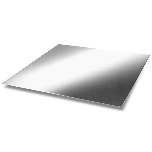 Magnesium-Blech 1,0 x 170 x 200 mm, Magnesiumplatte, Anode/Elektrode (17 x 20 cm), Plattenelektrode
