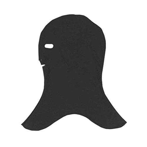Black Temptation Capuche de plongée élégante Facekini Mask Capuchon de Protection Contre Les Rayons UV Sun Protection, D