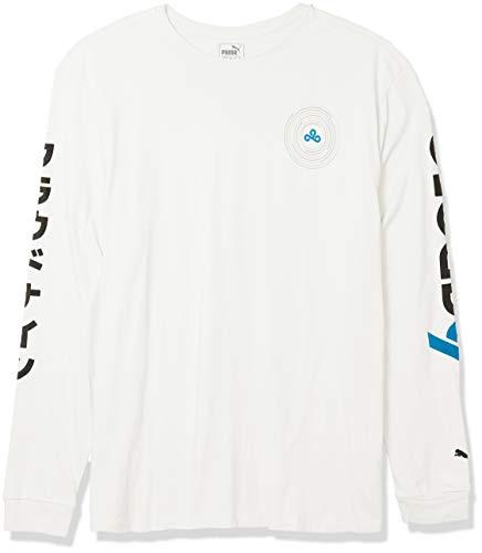 PUMA x CLOUD9 Orbit Long sleeve Tee Esports Puma White, M (58389702)