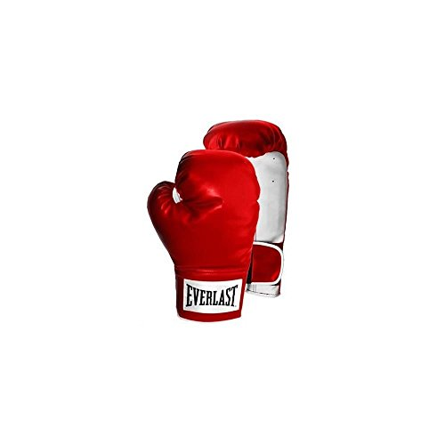 Everlast Training Gloves, 14 Oz, Red 009283575960