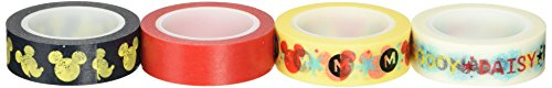 Tape Works Mickey and Friends Tape, Box of 4