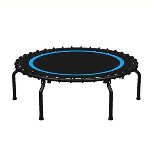 KY&CL Indoor Outdoor Mini Gymnastics Trampoline, indoor gym/slimming trampoline/foldable/silent Home/40 inch folding trampoline Blue,40' foldable