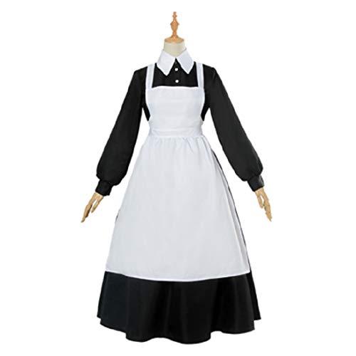YKJ Anime Charaktere Spiel Cosplay Mutter Cosplay Weibliche Halloween-Kostüm,Black-L