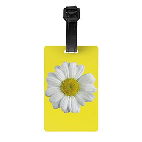 Camomilla One Size Bagagli Tag Pvccustom Valigia Tag Set Bagagli Id Tag Etichette Accessori Da Viaggio