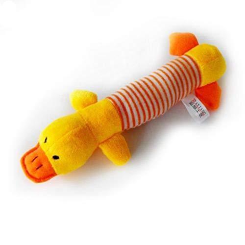 POIUY 9 Cm Bal Kauwen Speelgoed Voor Honden Katoenen Gevlochten Touw Bal Tandpasta,1,eend