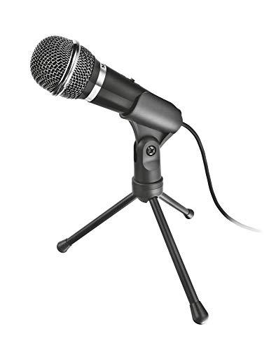 Microfone Trust Starzz All-round PC/Notebook preto