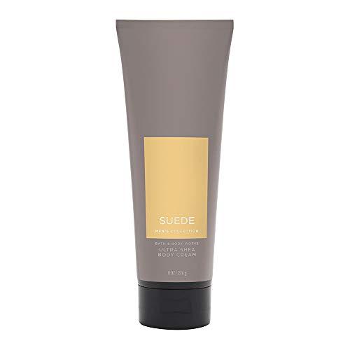 Bath & Body Works Suede for Men Ultra Shea Body Cream, 8 Ounce