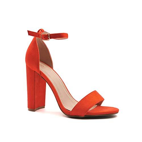 Angkorly - Chaussure Mode Sandale Escarpin Ouverte...