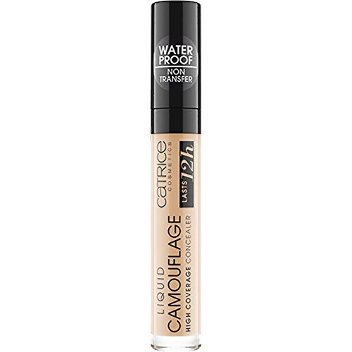 Catrice Liquid Camouflage High Coverage Concealer 032 Nude Beige - 3er Pack