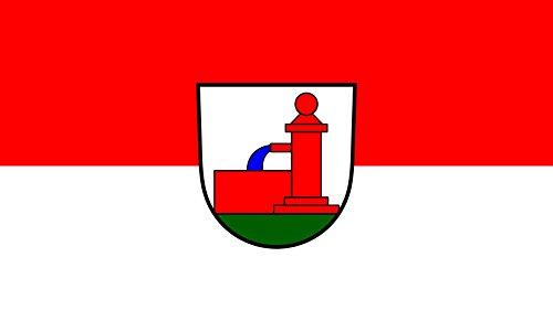 Unbekannt magFlags Tisch-Fahne/Tisch-Flagge: Schönbrunn 15x25cm inkl. Tisch-Ständer