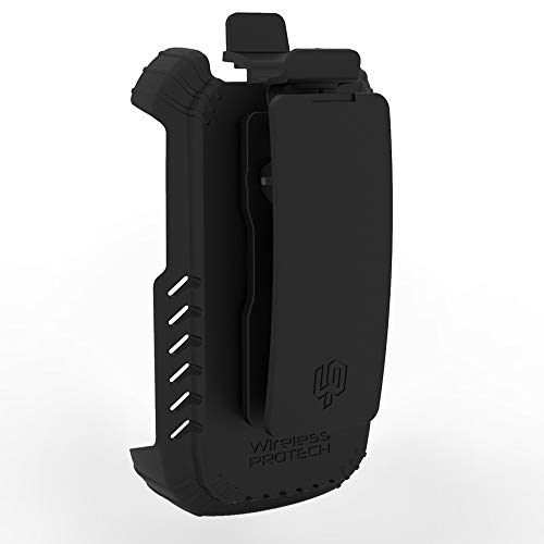 DuraXV Extreme Holster Case, E4810 TRU Flex Holster with Swivel Belt Clip, Case for Kyocera DuraXV Extreme E4810 by Wireless ProTech (for Phone Model E4810 Release Date April 2020)