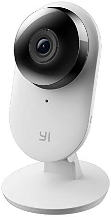 YI Home Camera 2, 1080p Full HD Wireless IP Security Surveillance System with Activity Zone, Human Detection for Indoor, Store, Baby, Pet Monitor with iOS, Android App - Cloud Service Available
