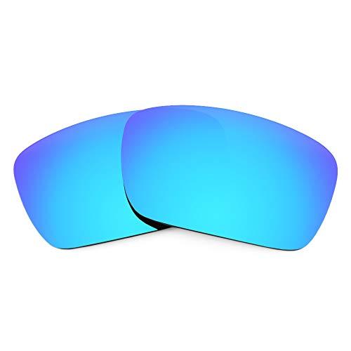 Revant Verres de Rechange pour Oakley Fuel Cell, Non Polarisés, Bleu Glacier MirrorShield