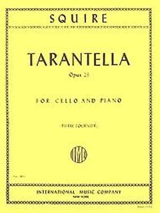 Amazoncom Squire Tarantella Opus 23 For Cello And Piano