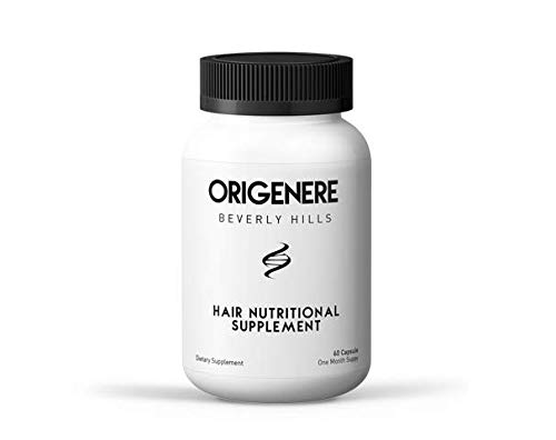 Origenere - Hair Vitamins - For Hair Loss / Thinning Hair - 60 Tablets