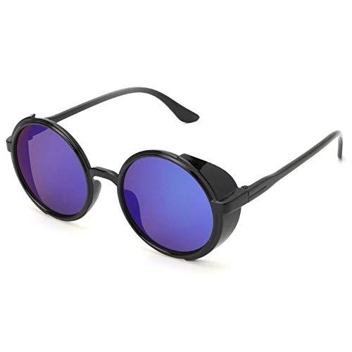 Gbc-type Steampunk-zonnebril voor mannen en vrouwen, rond, retro zoals afgebeeld