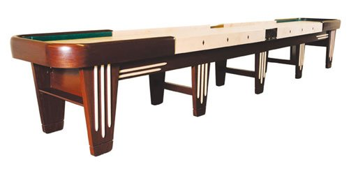 Venture 20 Foot Black River Chicago Shuffleboard Table