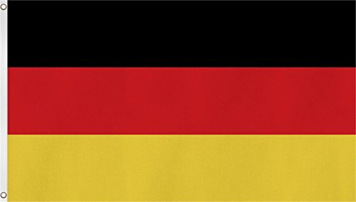 Drapeaux Avec Deux Oeillets Métalliques De Fixation Et De Levage - Taille 90 x 150 cm - 90x150, Allemagne