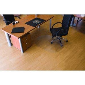 Ecogrip Bodenschutzmatte Hartböden 90x120cm transparent oval