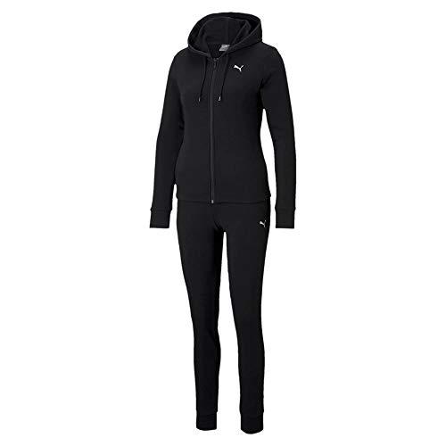 PUMA Classic HD. Sweat Suit TR Chándal, Mujer, Black, S