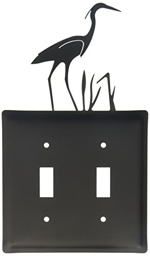8 Inch Heron Double Switch Cover
