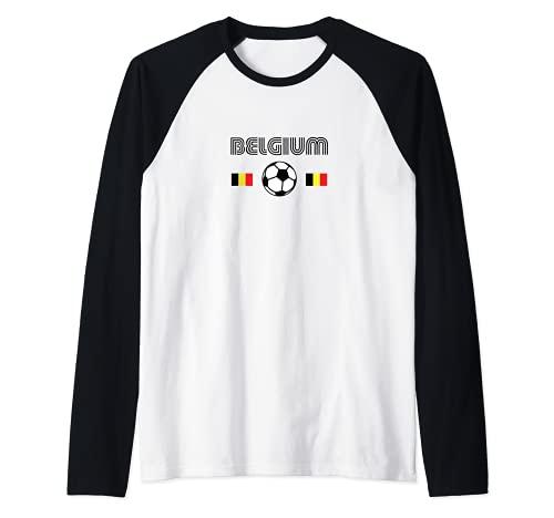 Belgio Calcio Maglia con Maniche Raglan