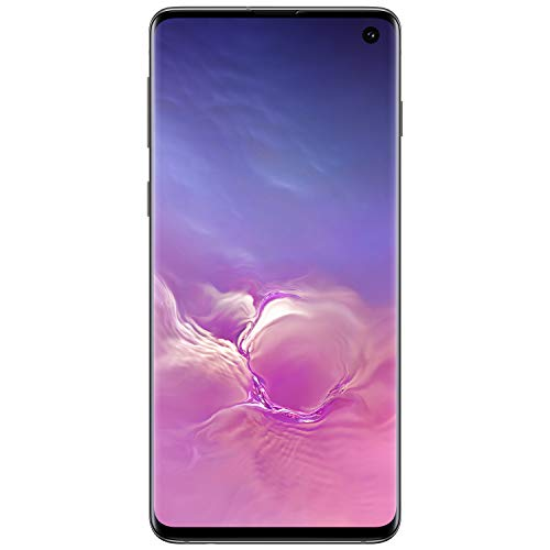 Samsung Galaxy S10Factory Unlocked Android Cell Phone   US Version  128GBof Storage   Fingerprint ID and Facial Recognition   Long-Lasting Battery   Prism Black (SM-G973U1ZKAX)