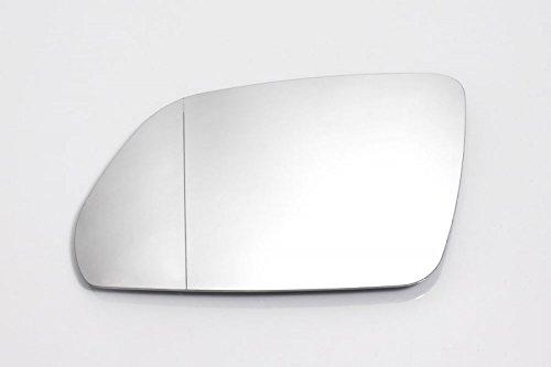 Spiegelglas Links Fahrerseite Beheizbar Asphärisch Weiß
