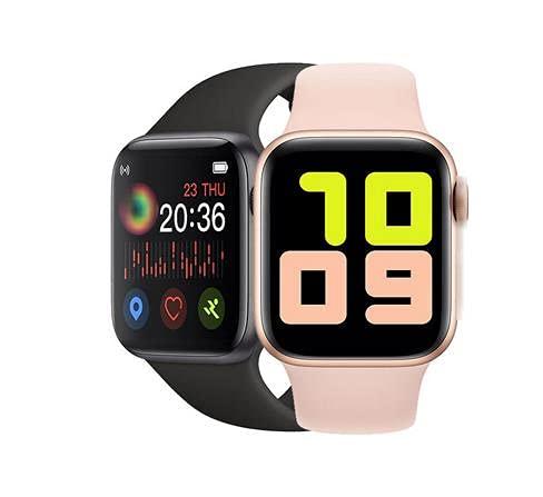 2020 reloj inteligente hombres mujeres X7 llamada Bluetooth ritmo cardíaco presión arterial reloj impermeable para Apple xiaomi PK IWO 12 13 T55 T500