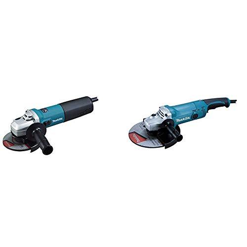 Makita 9565CVR - Mini-Amoladora 125 Mm 1400W 2800-11000 Rpm 2.2 Kg Sjs Sar Makpower + Makita GA9050R - Amoladora 230 Mm 2000W 6600 Rpm 4.8 Kg Sar