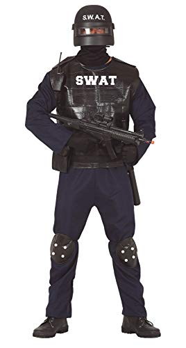 FIESTAS GUIRCA Disfraz Hombre swat policia Talla m